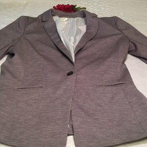 H&M ladies size 12 gray blazer